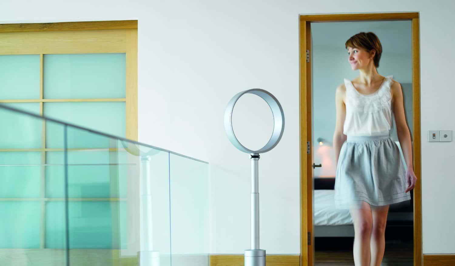 product shopping bluewater fan u status pedestal dyson white