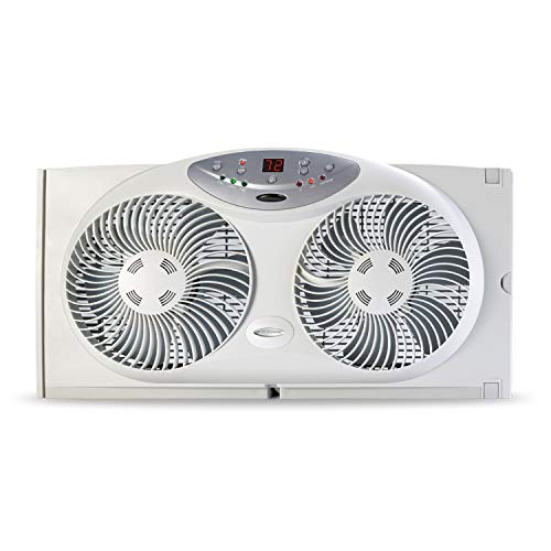 Best Window Fan Reviews – 5 Products to Choose From:Bionaire Twin Reversible Airflow Window Fan