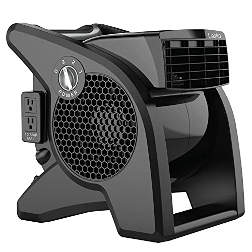 Lasko High Velocity Pro-Performance Pivoting Utility Fan for Cooling, Ventilating, Exhausting and...
