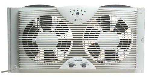 Best Window Fan Reviews – 5 Products to Choose From:Holmes Dual Blade 8'' Twin Window Fan