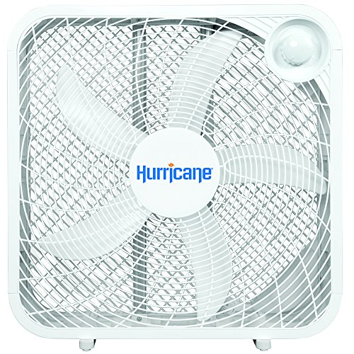 Box fan reviews:Hurricane Box Fan - 20 Inch Classic Series