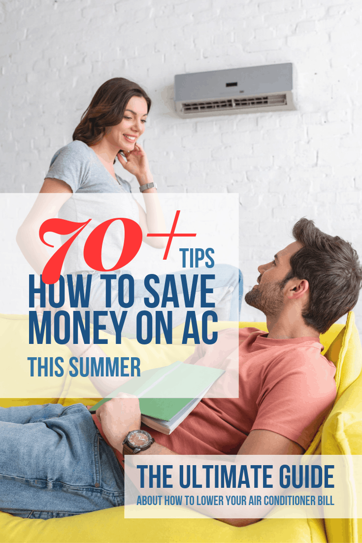 How to save money on AC? 70+tip guide that will help you to lower your cooling costs #fan #fans #energysaving #savingmoney #summertips #energysavingtips #coolingtips #homeimprovement #airconditioning