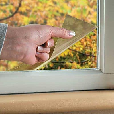 Use window films to prevent your house from heating up in summer #whatfans #energysaving #savingmoney #summertips #energysavingtips #coolingtips