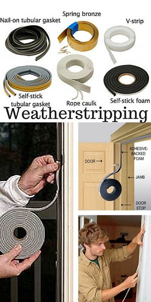 Weatherstrip your doors and windows to keep your house cool in summer #whatfans #energysaving #savingmoney #summertips #energysavingtips #coolingtips