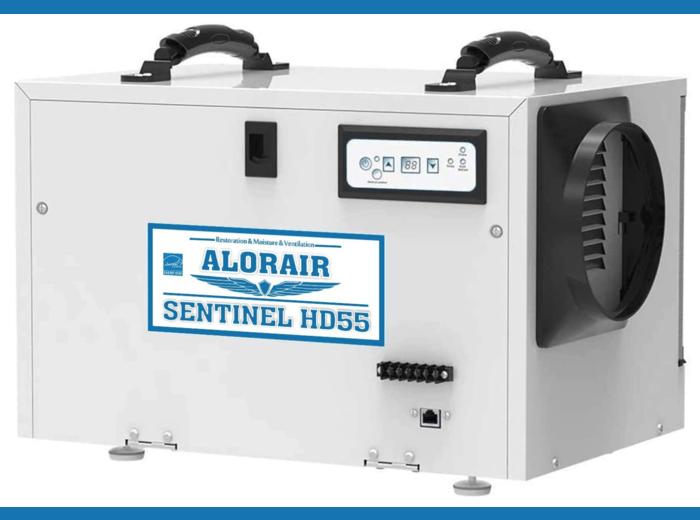 Alorair Sentinel Basement & Crawl Space Dehumidifier HD55